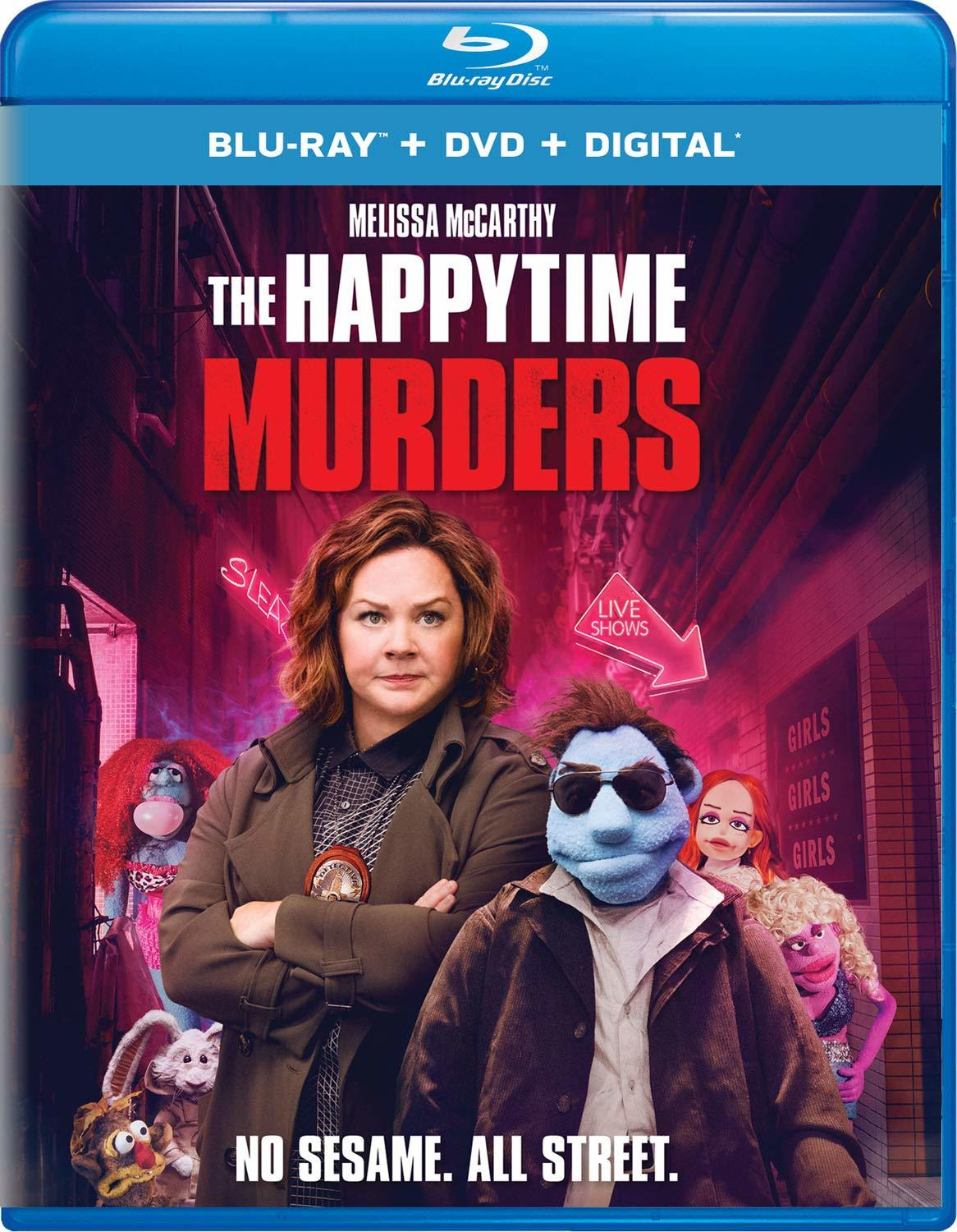 The Happytime Murders (Blu-ray)(Region A)