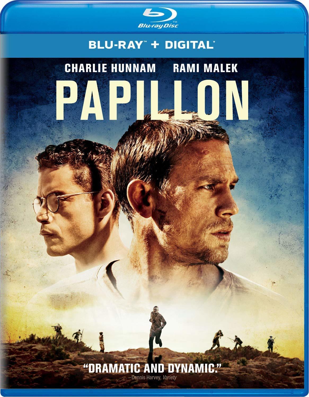 Papillon (2018)(Blu-ray)(Region Free)