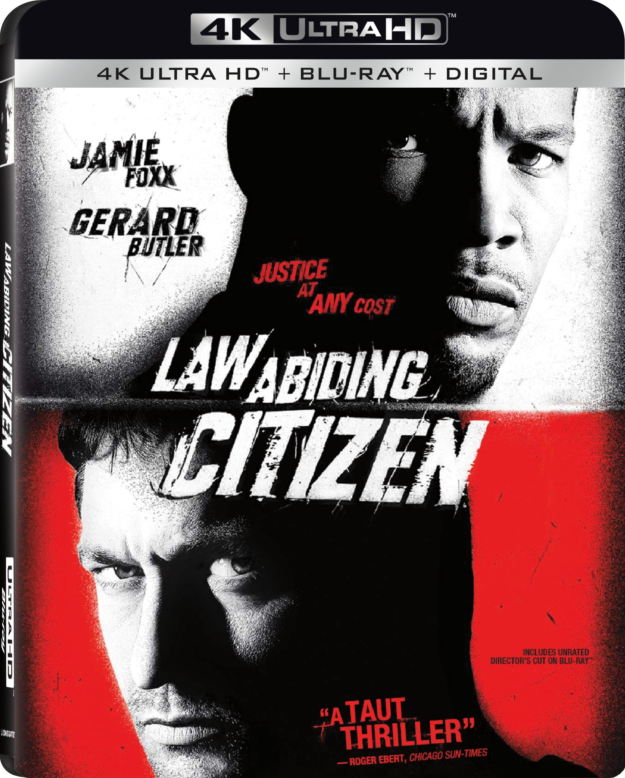 Law Abiding Citizen 4K (2009) Ultra HD Blu-ray