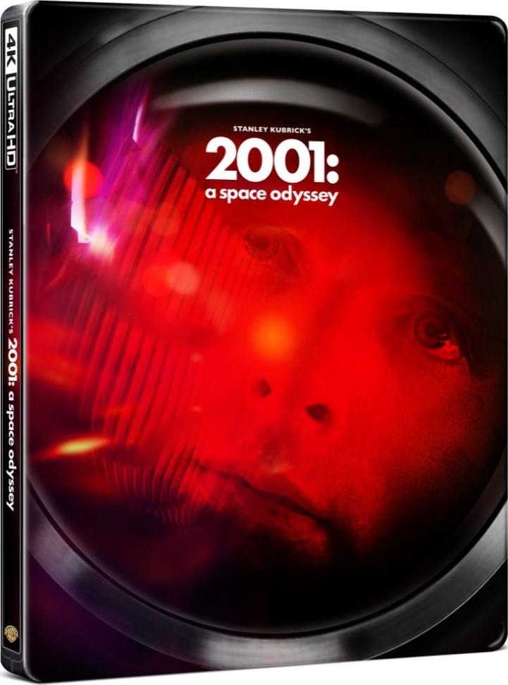 2001: A Space Odyssey 4K (SteelBook)(1968) Ultra HD Blu-ray