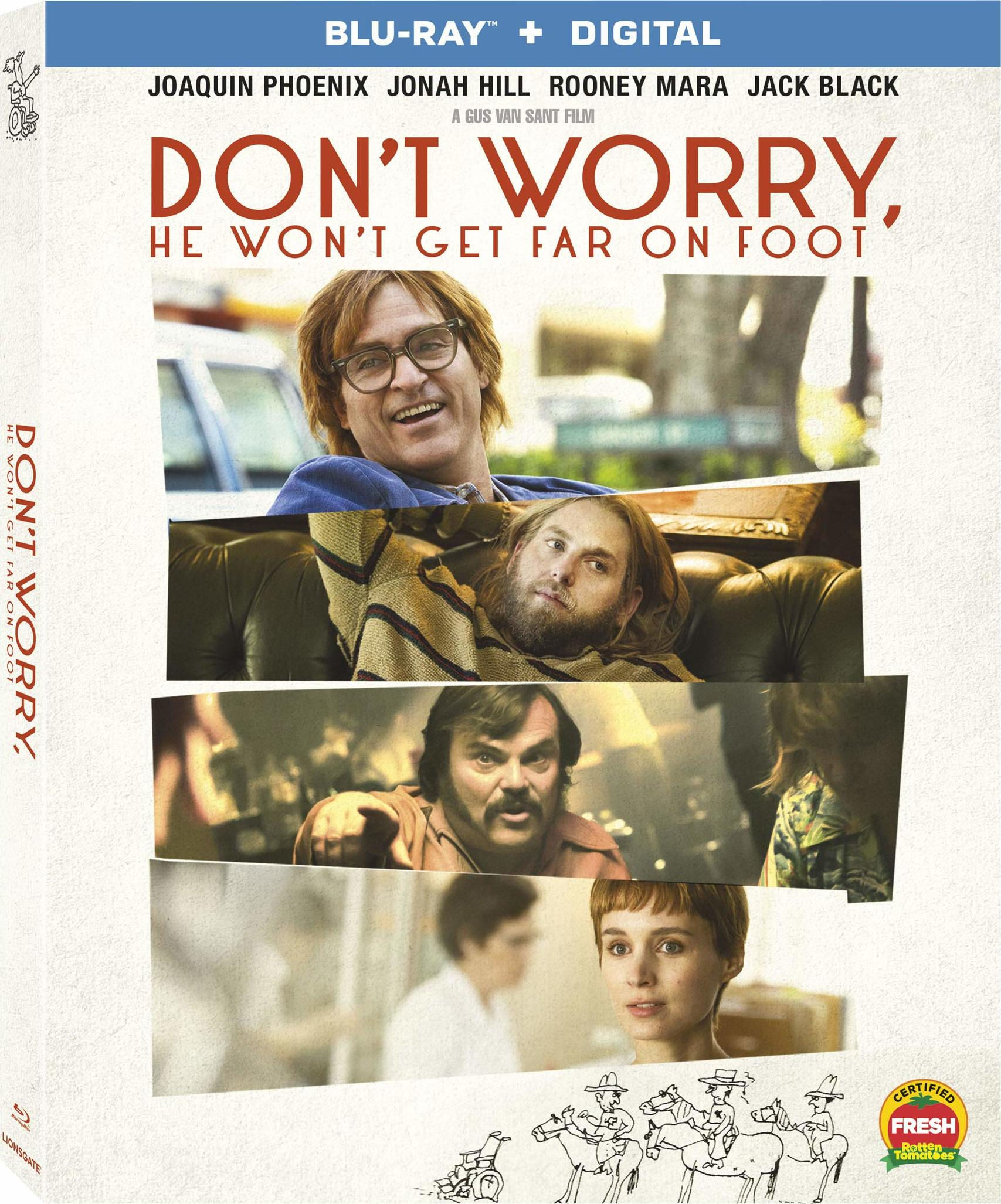 Don't Worry, He Won't Get Far on Foot (Blu-ray)(Region A)