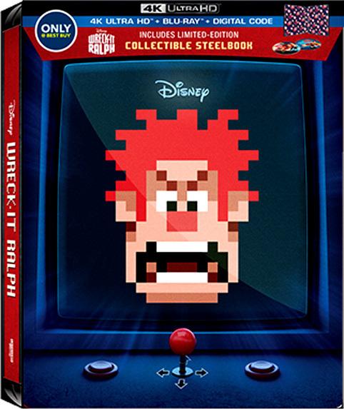 Wreck-It Ralph 4K (SteelBook)(2012) Ultra HD Blu-ray