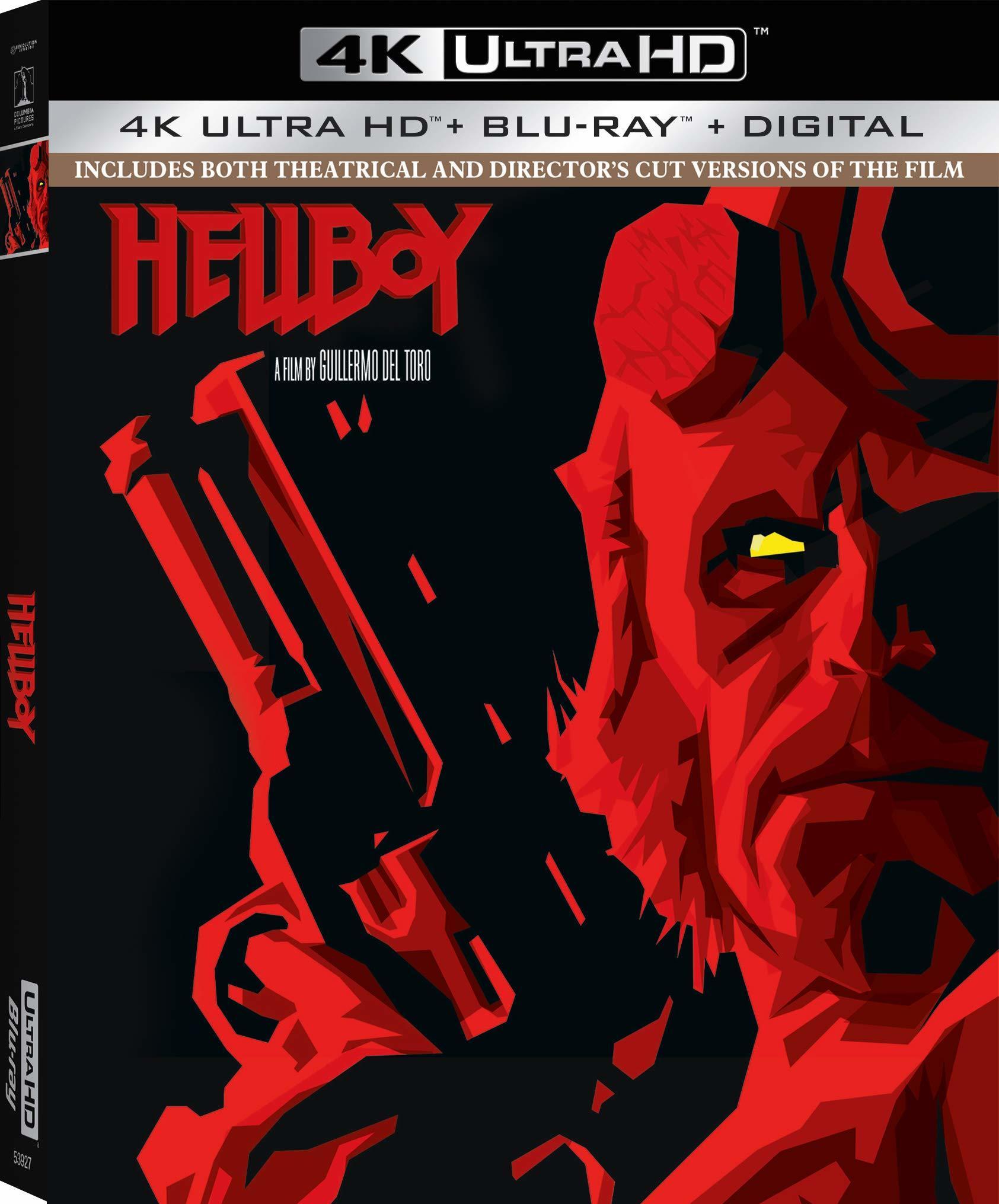Hellboy 4K (2004) Ultra HD Blu-ray