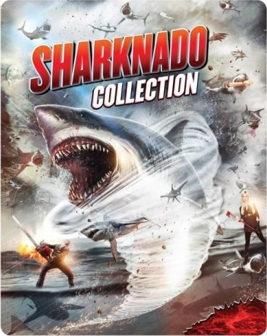 Sharknado Collection (SteelBook)(Blu-ray)(Region A)