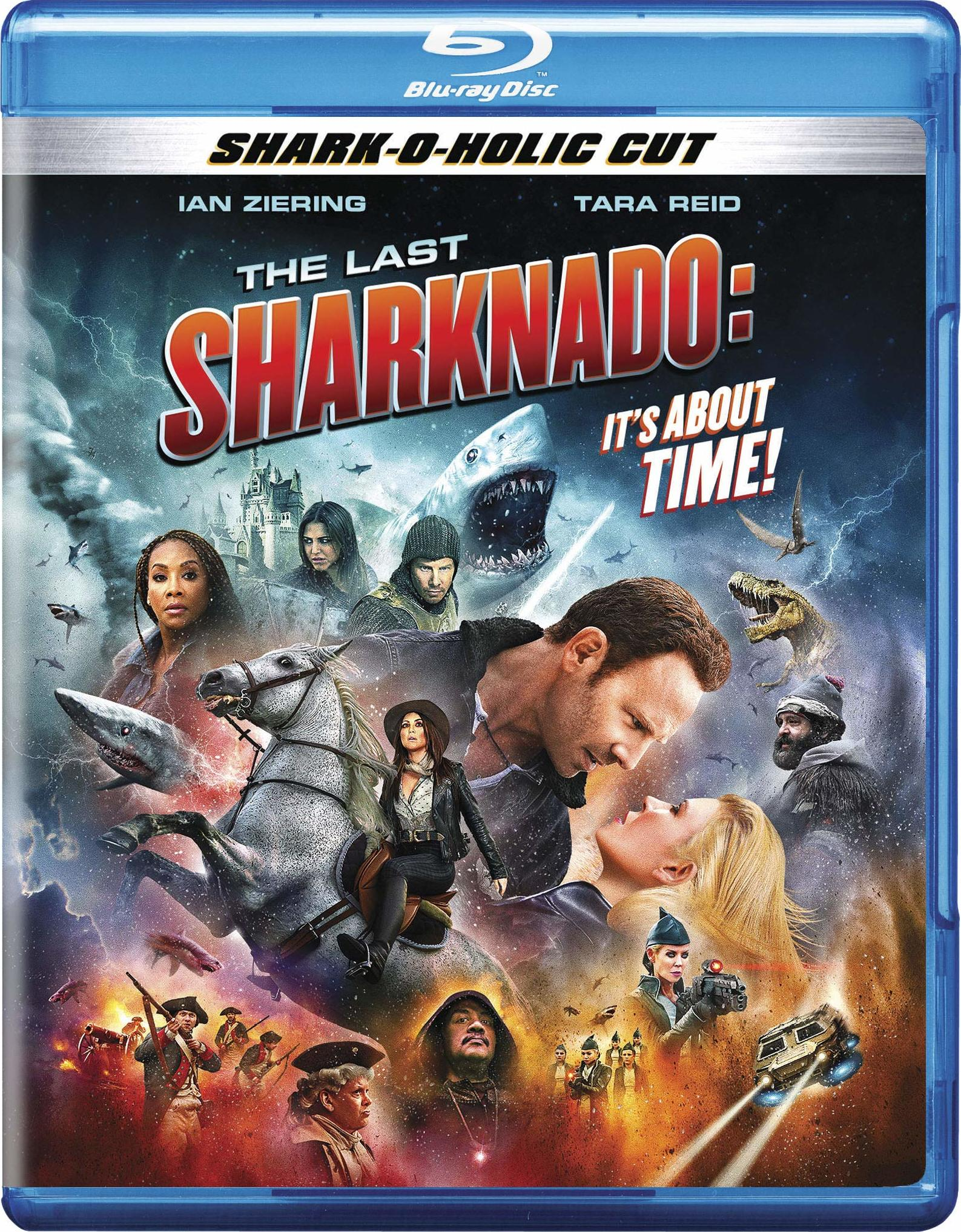 The Last Sharknado: It's About Time (Blu-ray)(Region A)