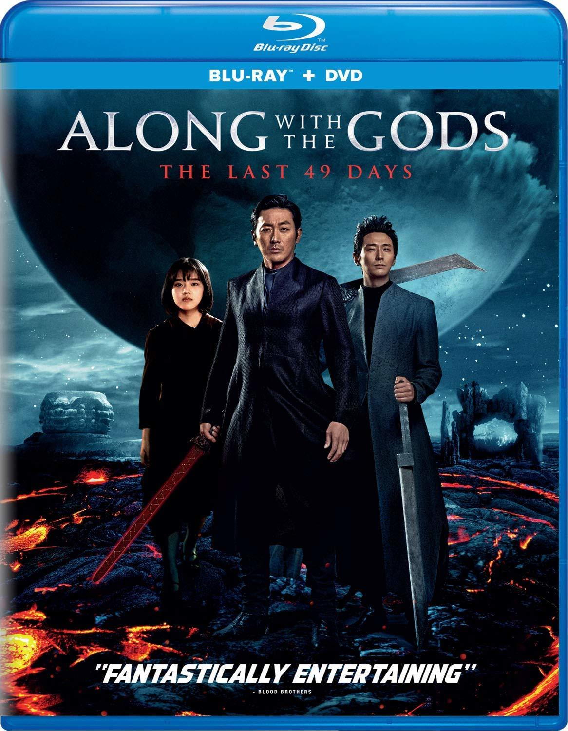 Along with the Gods: The Last 49 Days (Blu-ray)(Region Free)