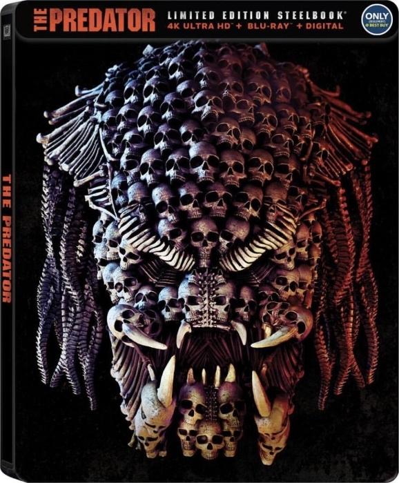 The Predator 4K (SteelBook)(2018) Ultra HD Blu-ray