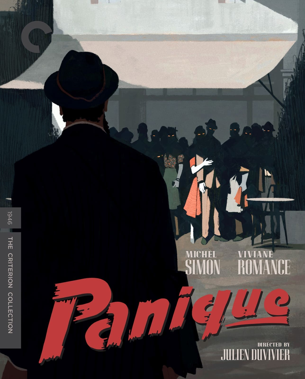 Panique (Panic)(The Criterion Collection)(Blu-ray)(Region A)