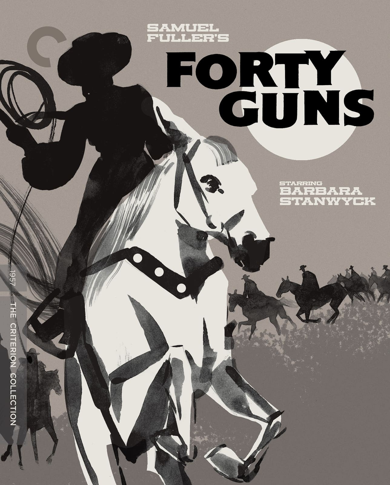 Forty Guns (The Criterion Collection)(Blu-ray)(Region A)