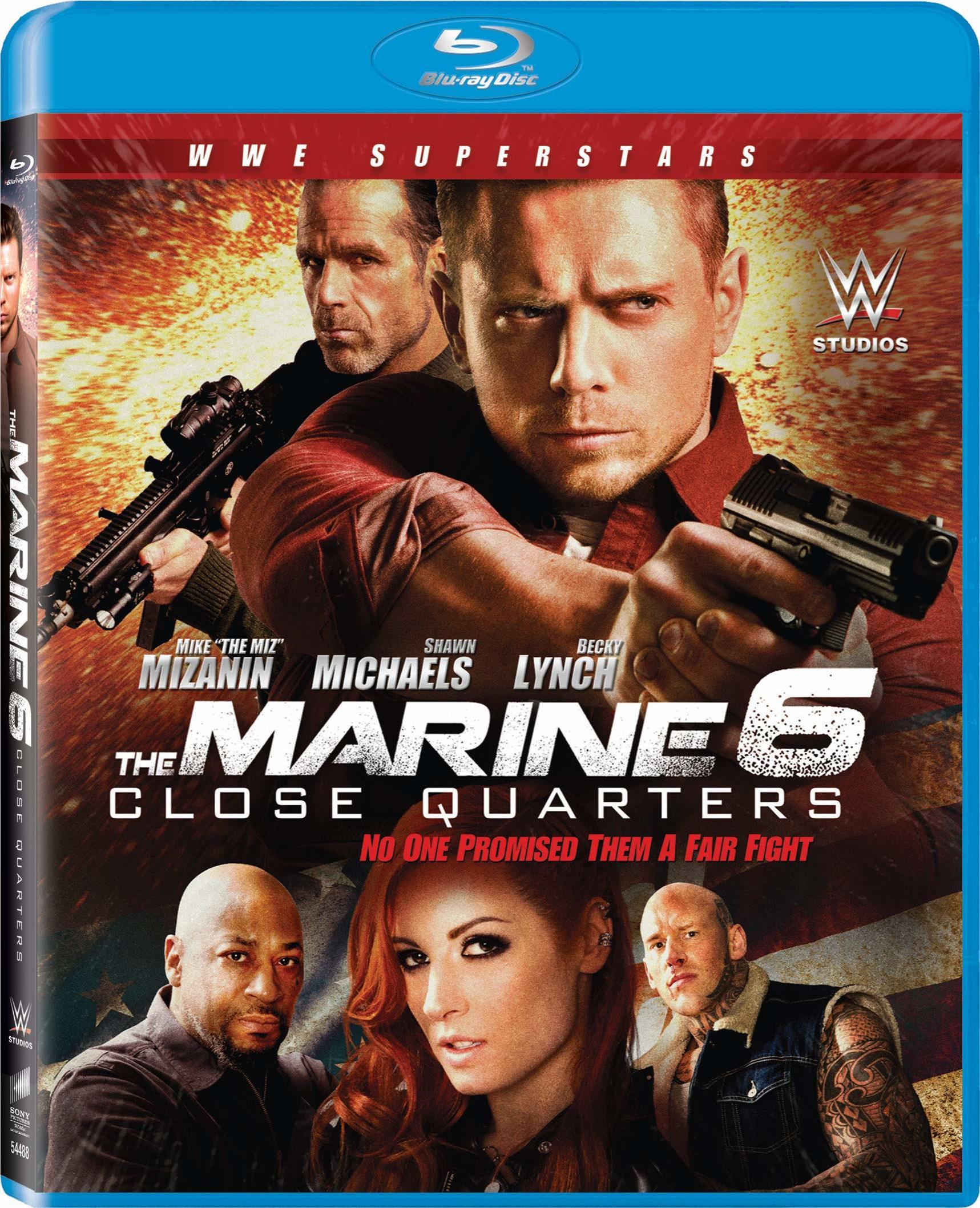 The Marine 6: Close Quarters (Blu-ray)(Region A)