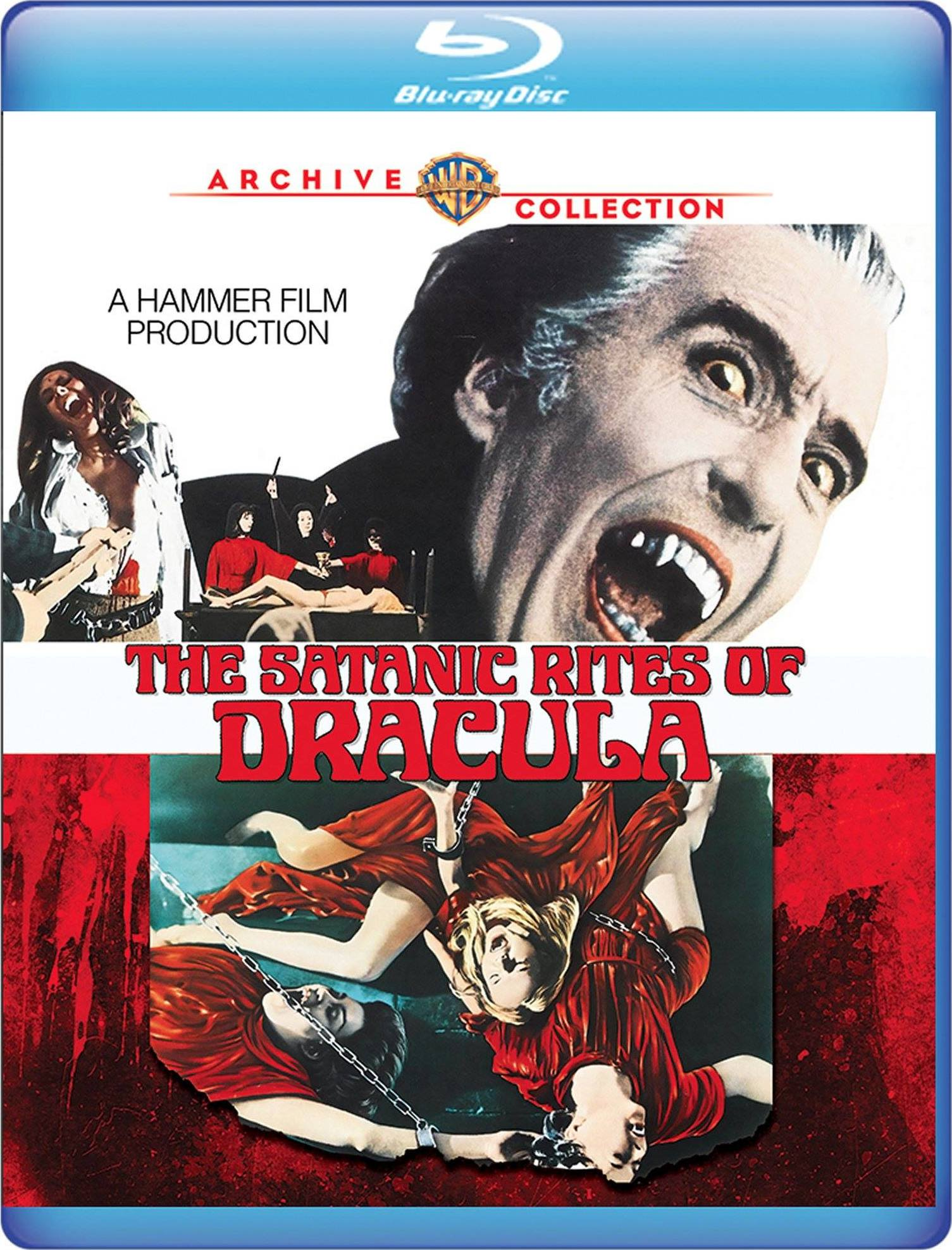 The Satanic Rites of Dracula (Warner Archive Collection)(Blu-ray)(Region Free)