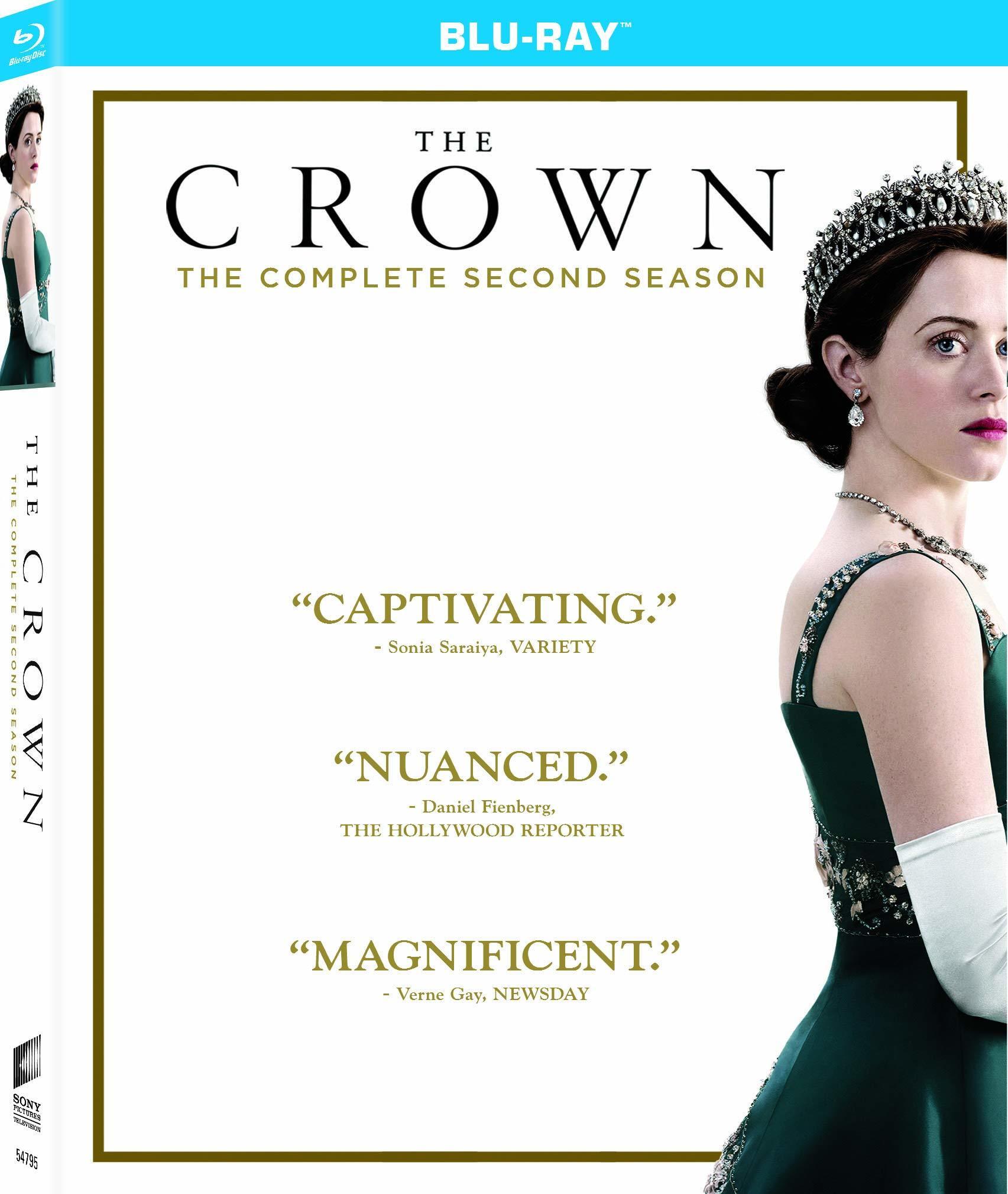 The Crown: Season Two (Blu-ray)(Region A)