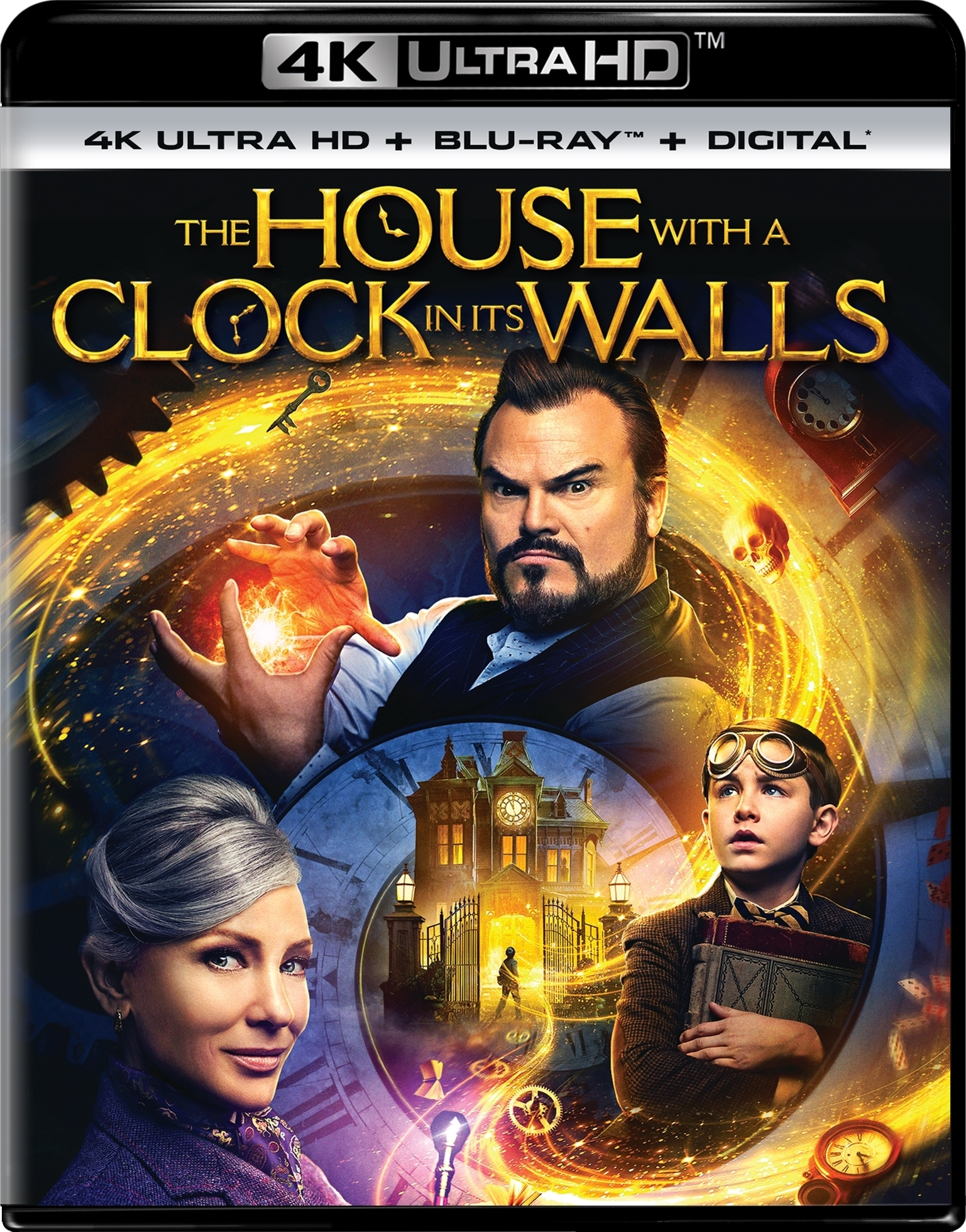 The House with a Clock in Its Walls 4K (2018) Ultra HD Blu-ray