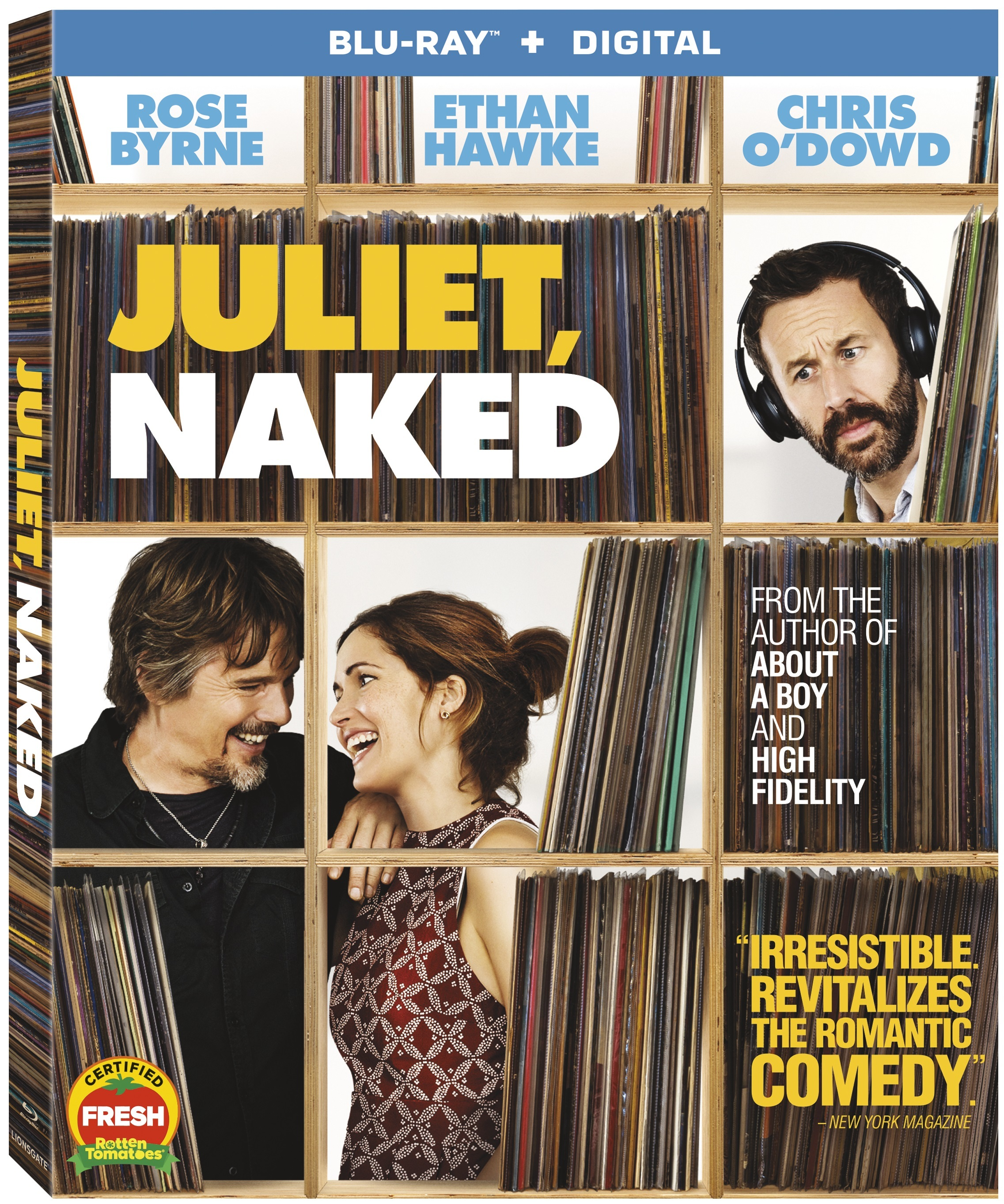 Juliet, Naked (Blu-ray)(Region A)
