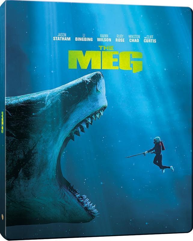 The Meg 4K (SteelBook)(2018) Ultra HD Blu-ray