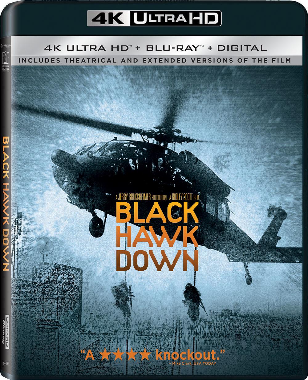 Black Hawk Down 4K (2001) Ultra HD Blu-ray