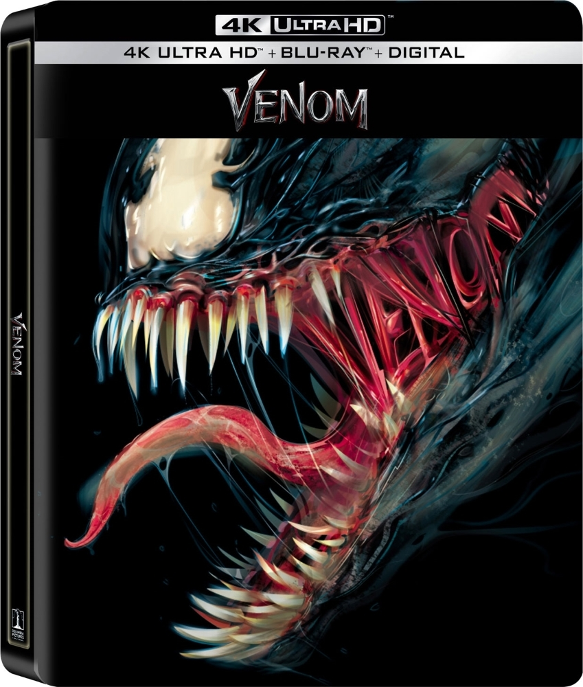 Venom (SteelBook)(4K Ultra HD Blu-ray)