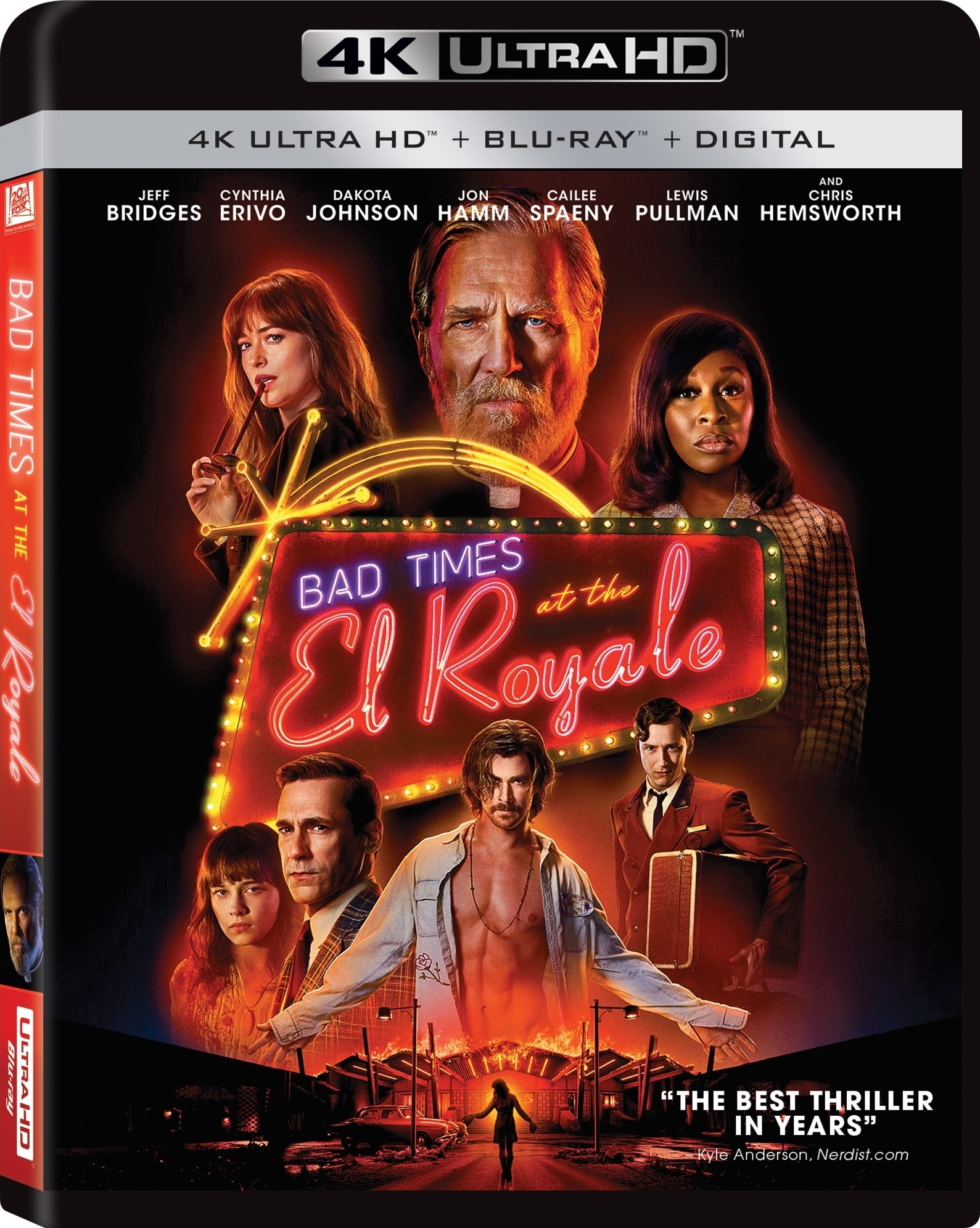Bad Times at the El Royale (2018) 4K Ultra HD