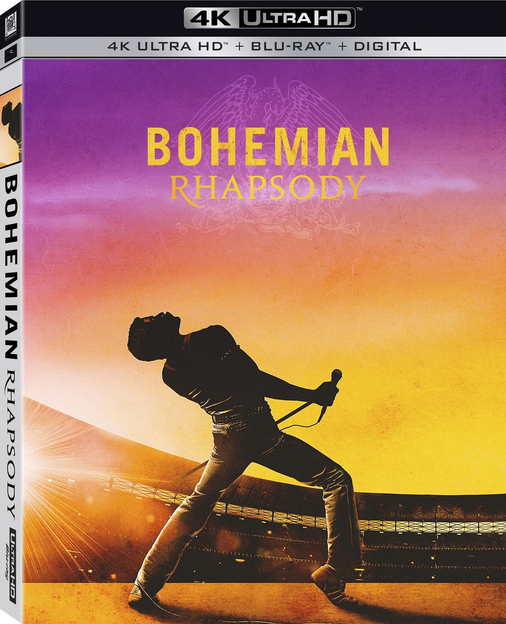Bohemian Rhapsody (4K Ultra HD Blu-ray)(Pre-order / TBA)