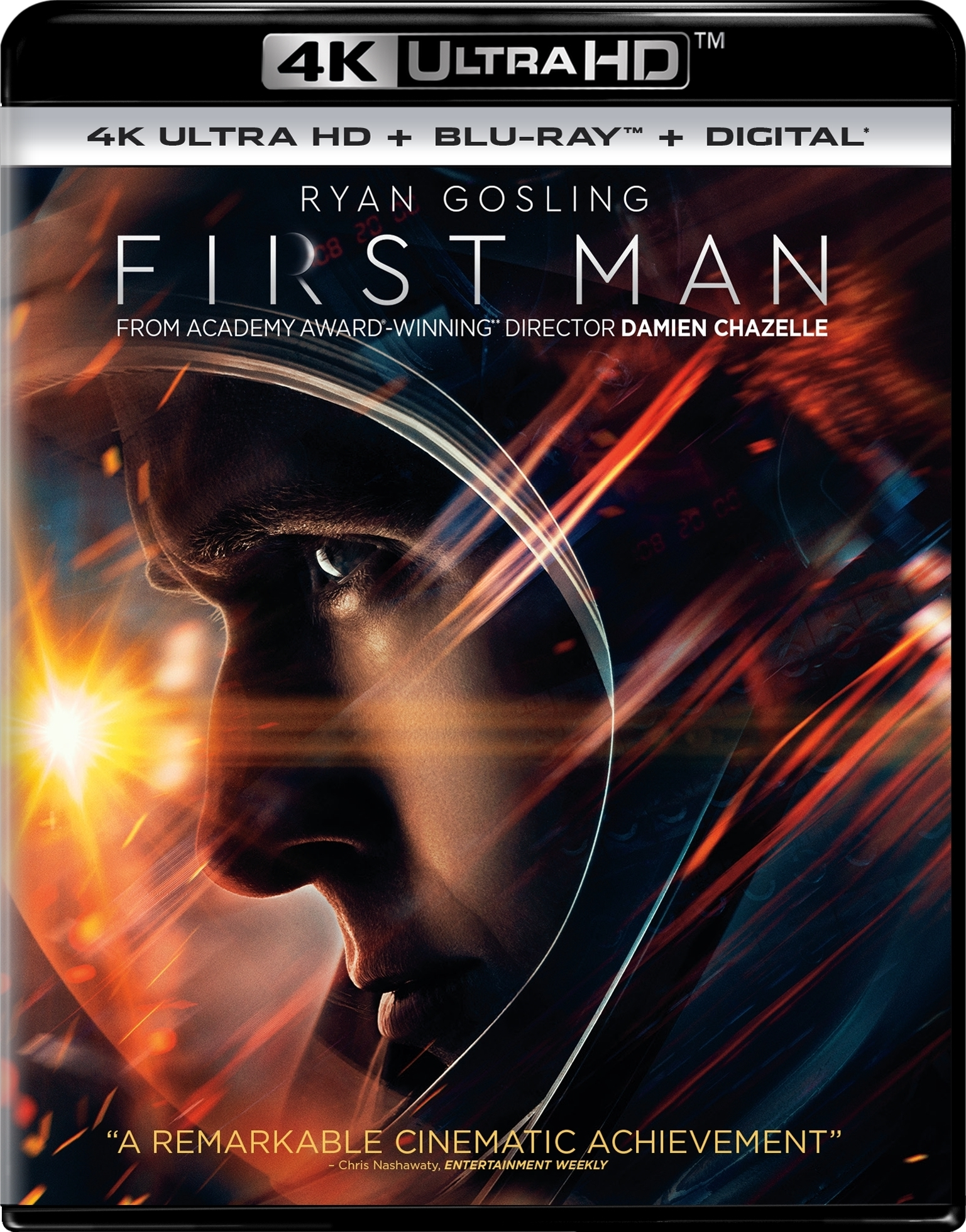 First Man 4K (2018) Ultra HD Blu-ray