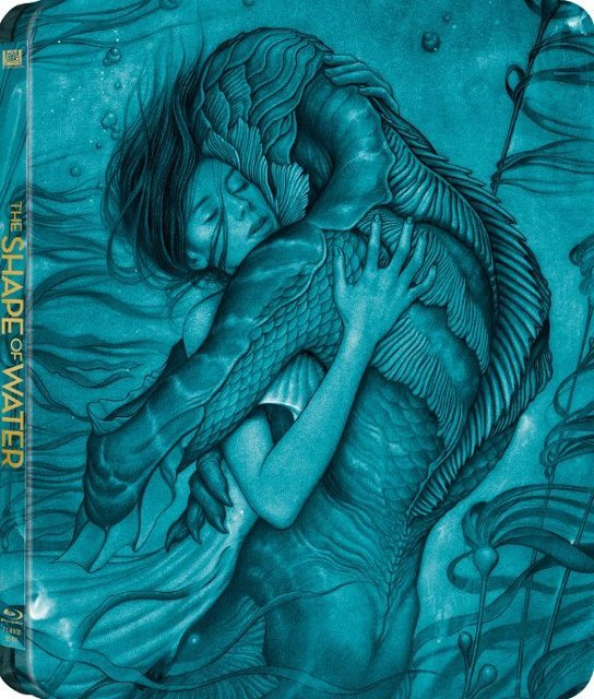 The Shape of Water (SteelBook)(4K Ultra HD Blu-ray)