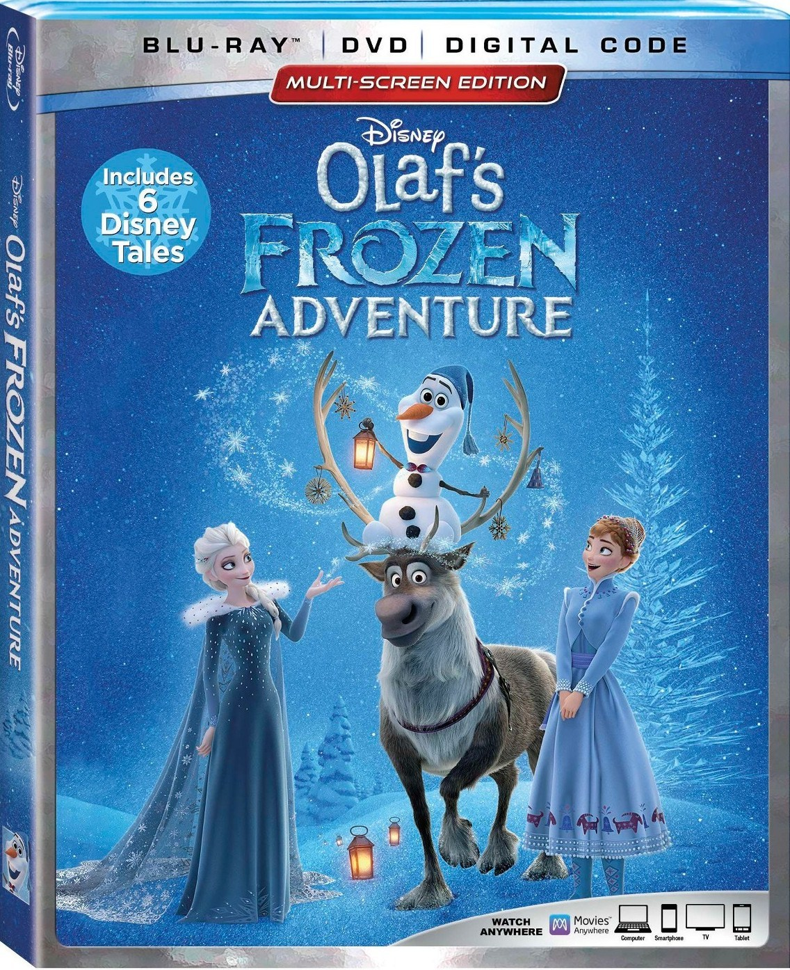 Olaf's Frozen Adventure (Blu-ray)(Region Free)