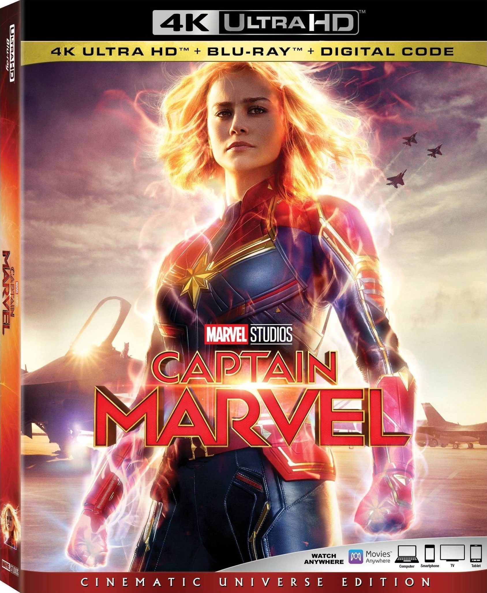 Captain Marvel (4K Ultra HD Blu-ray)(Pre-order / TBA)