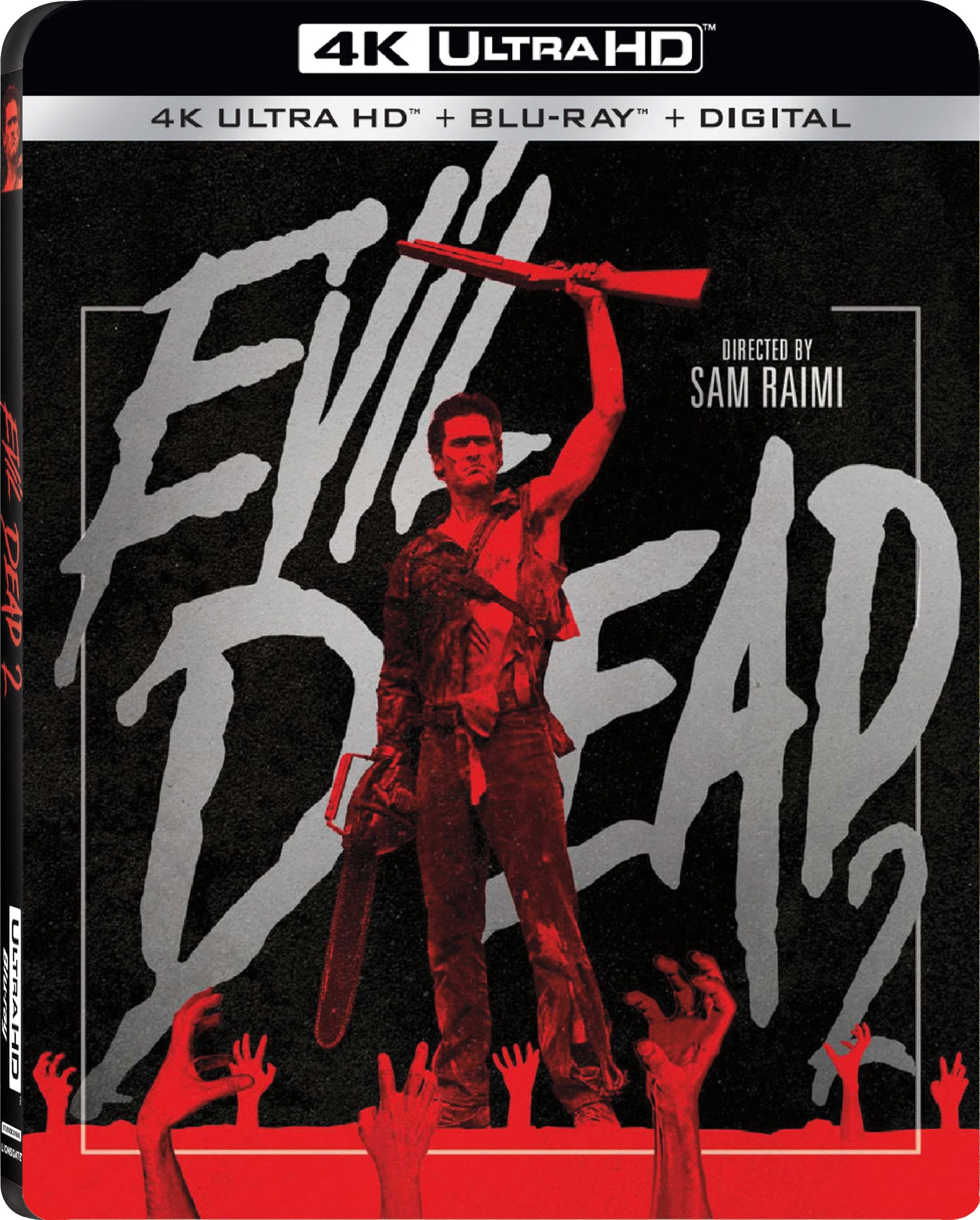 Evil Dead 2 4K (1987) Ultra HD Blu-ray