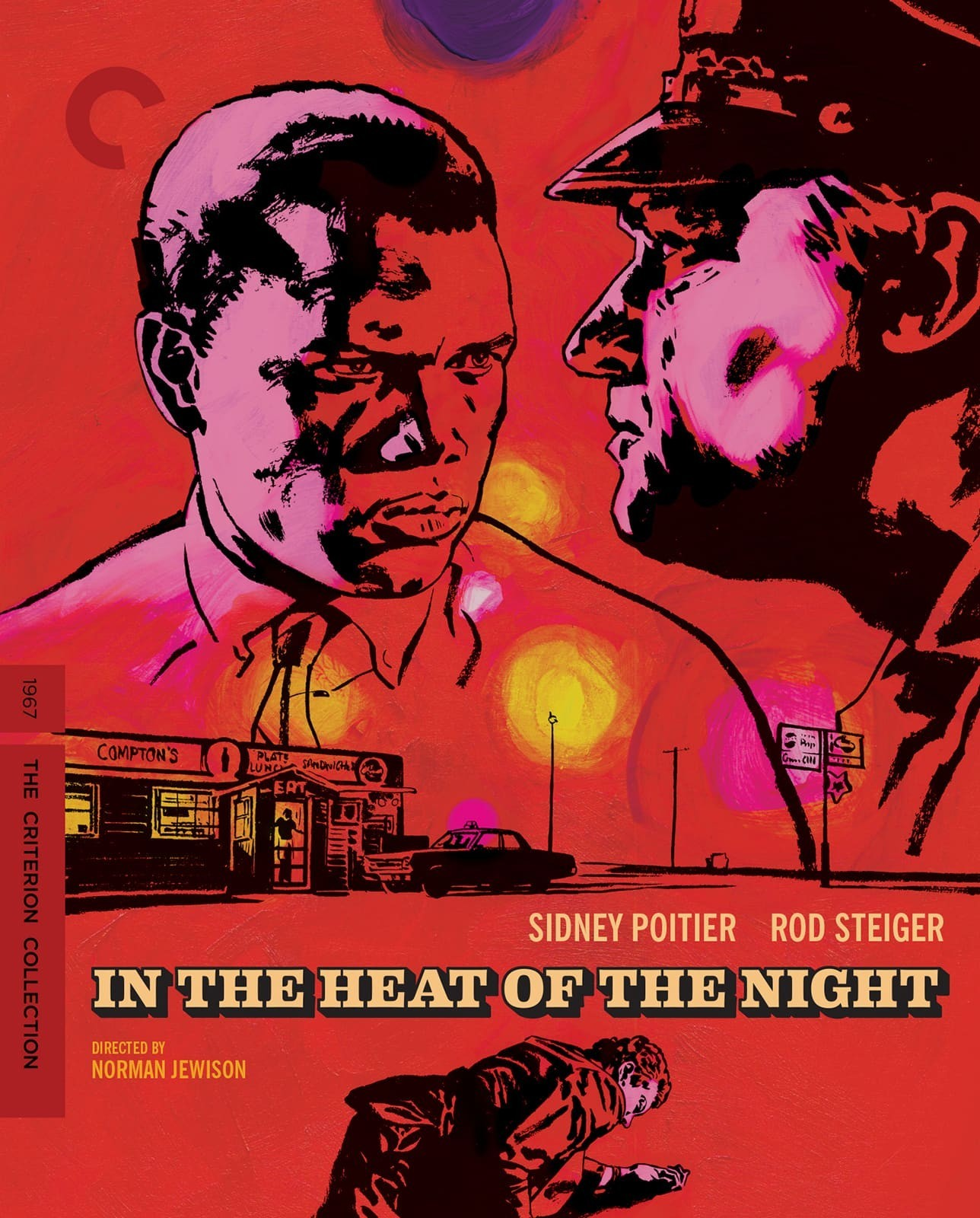 In the Heat of the Night (The Criterion Collection)(Blu-ray)(Region A)