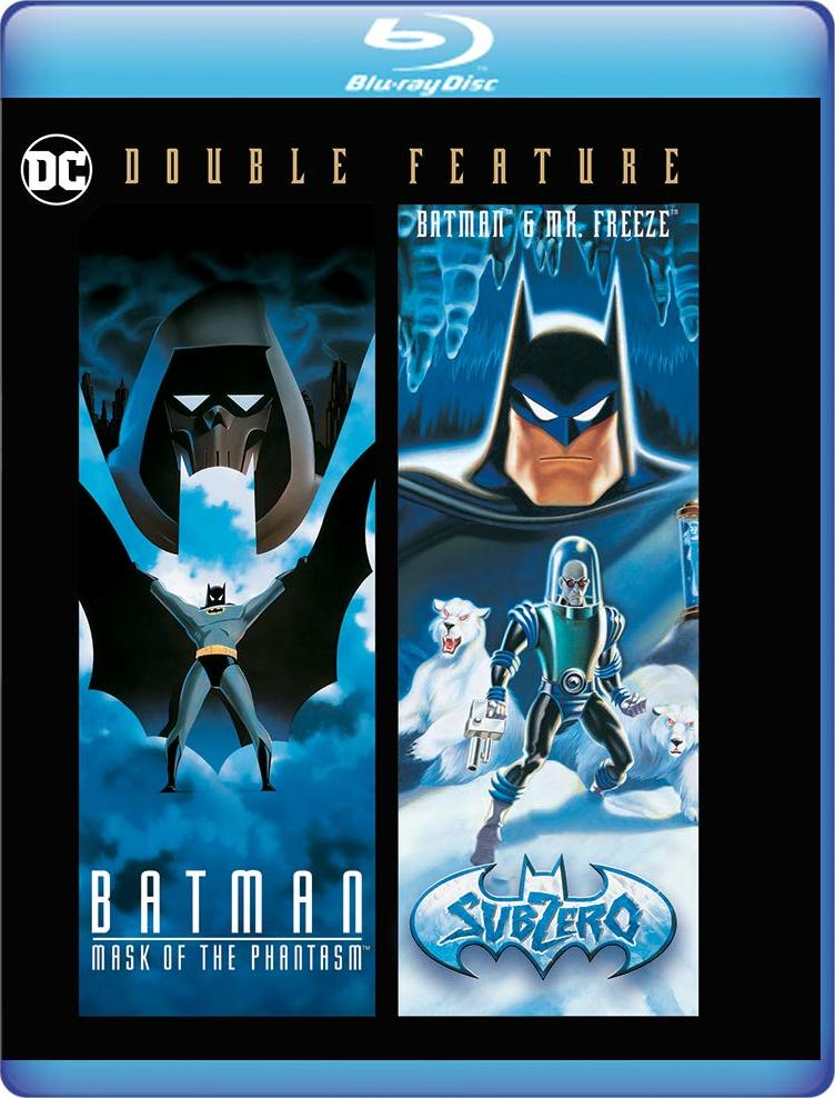 Batman Animated Double Feature (Mask of the Phantasm / Mr. Freeze: SubZero)(Blu-ray)(Region Free)