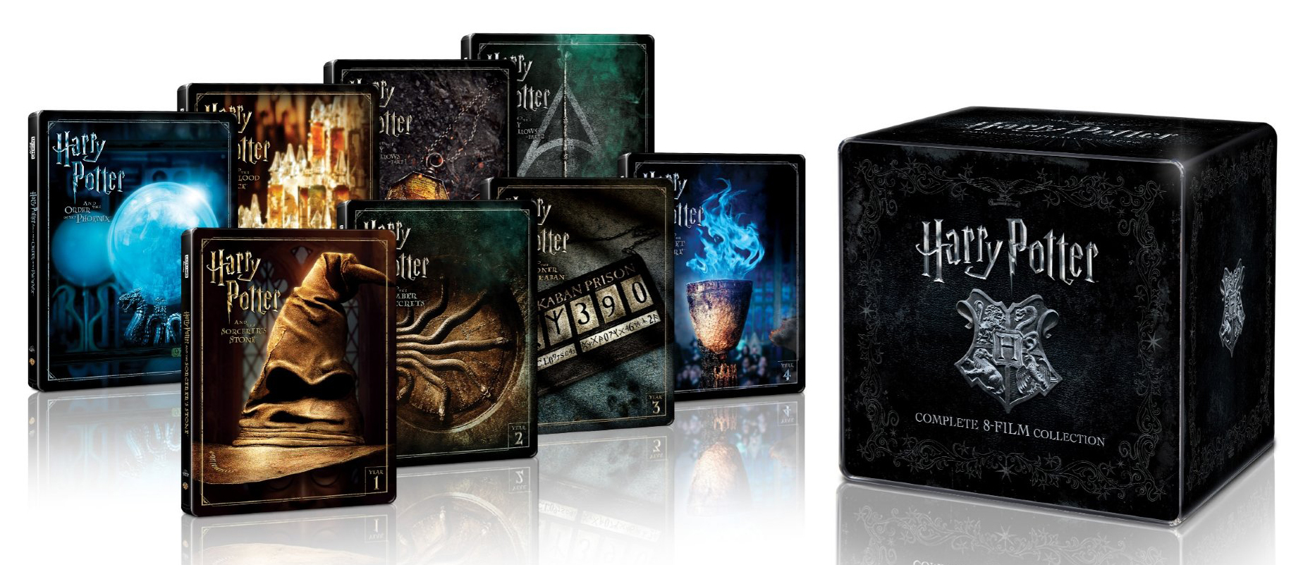 Harry Potter: 8-Film Collection 4K (SteelBook) UHD Ultra HD Blu-ray