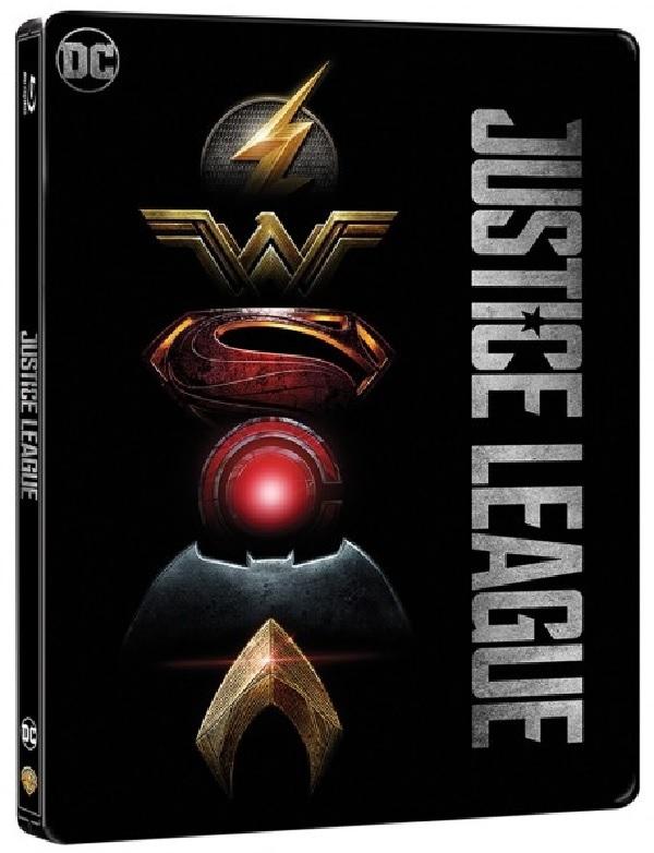 Justice League 4K (SteelBook)(2017) UHD Ultra HD Blu-ray