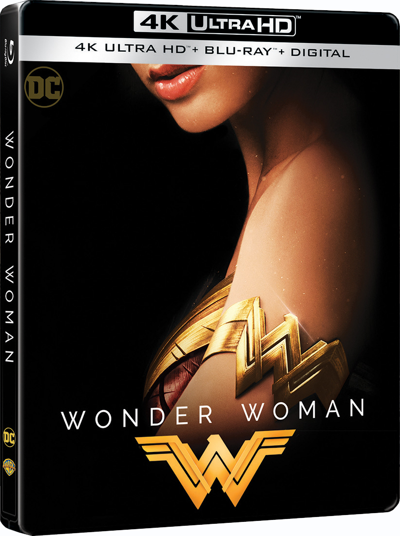 Wonder Woman 4K (SteelBook)(2017) Ultra HD Blu-ray