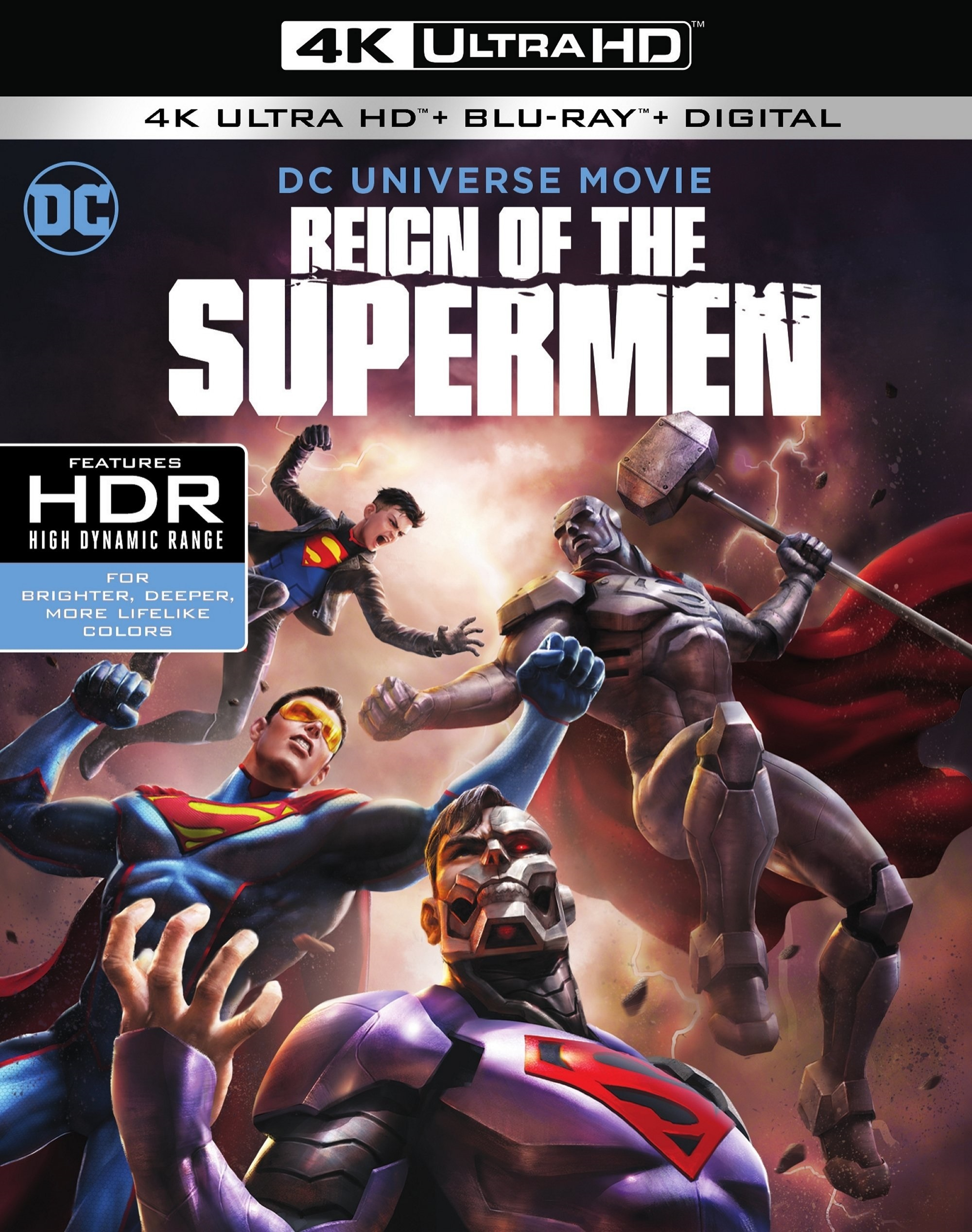 Reign of the Supermen 4K (2019) Ultra HD Blu-ray