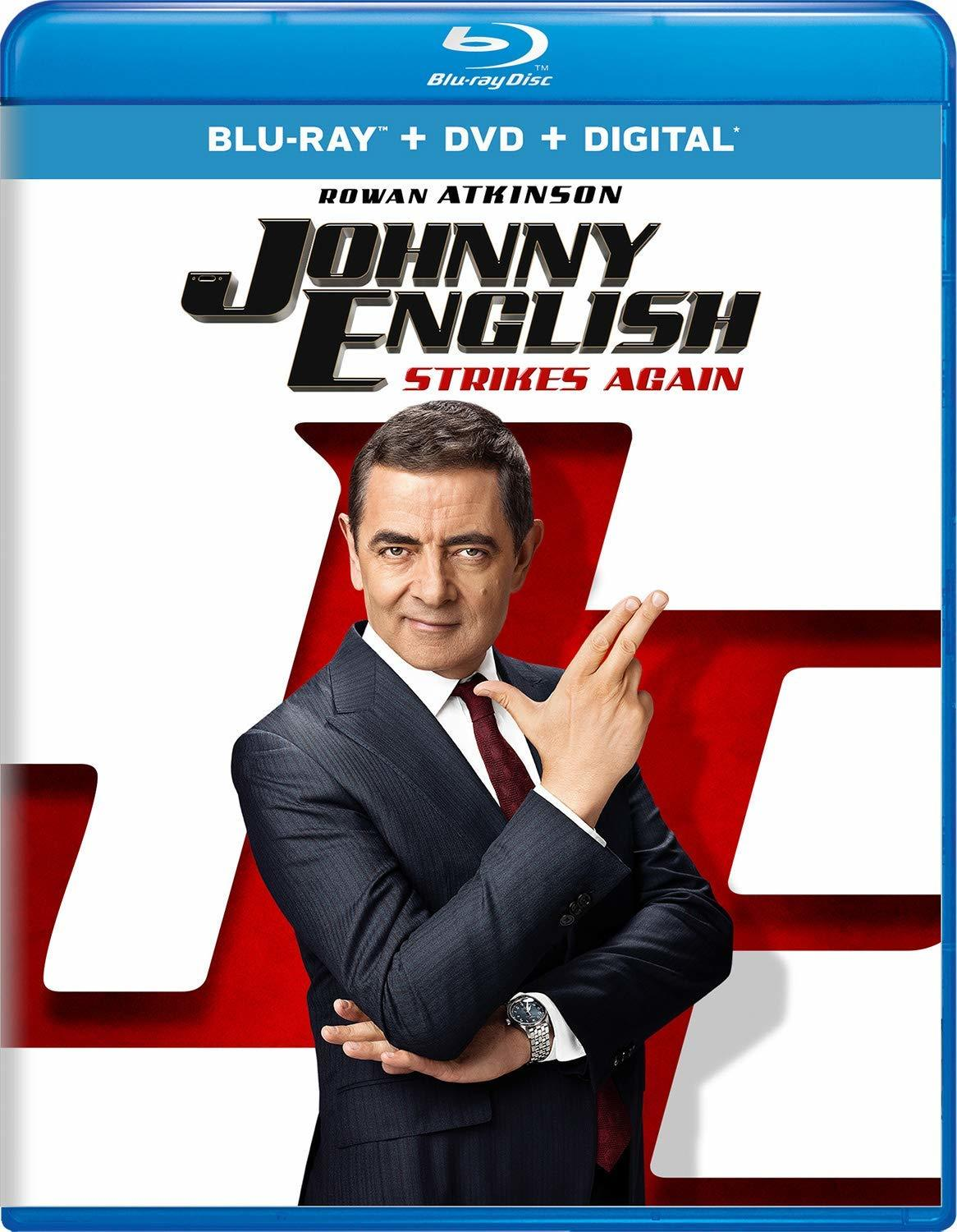 Johnny English Strikes Again (Blu-ray)(Region Free)