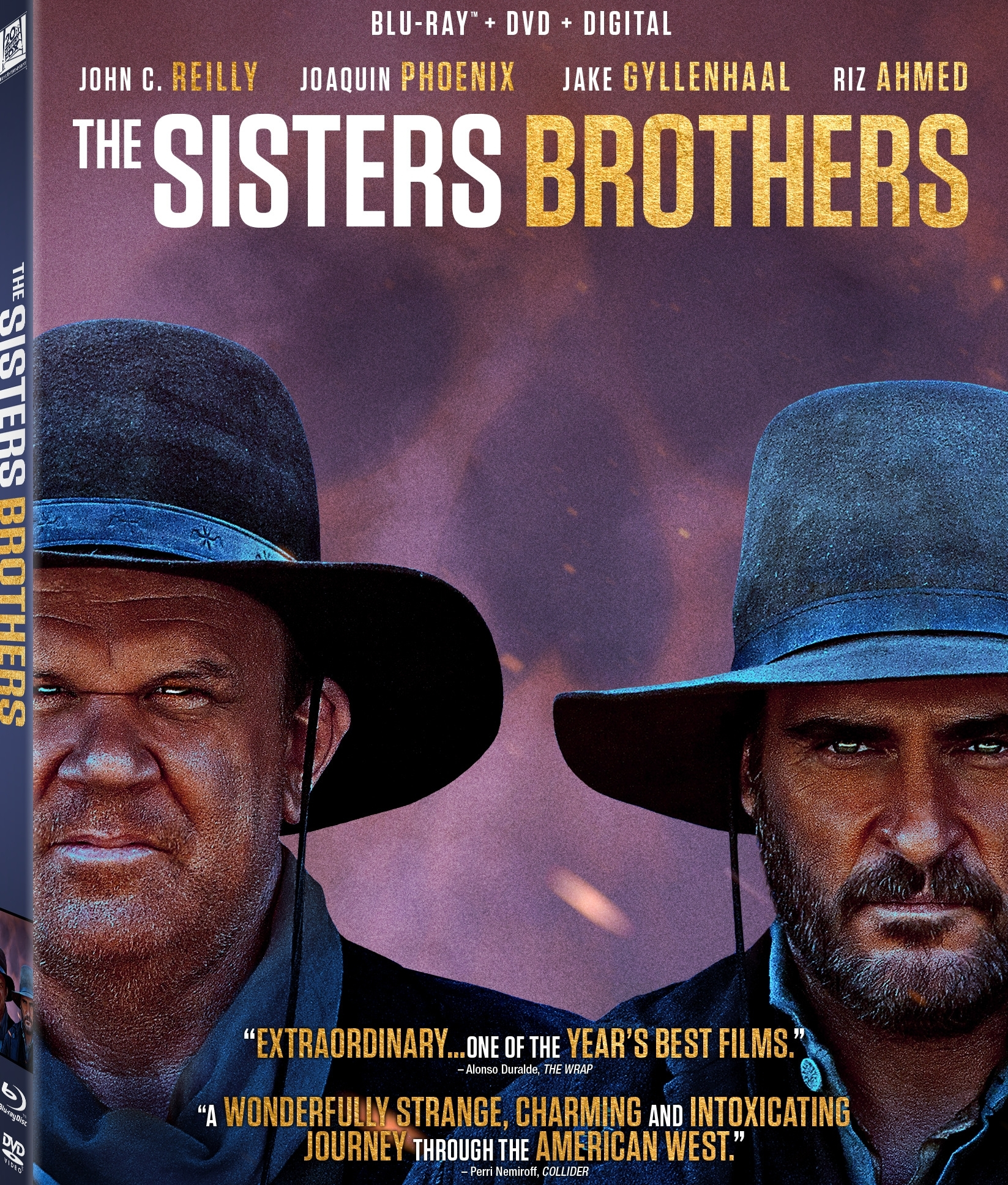 The Sisters Brothers (Blu-ray)(Region A)
