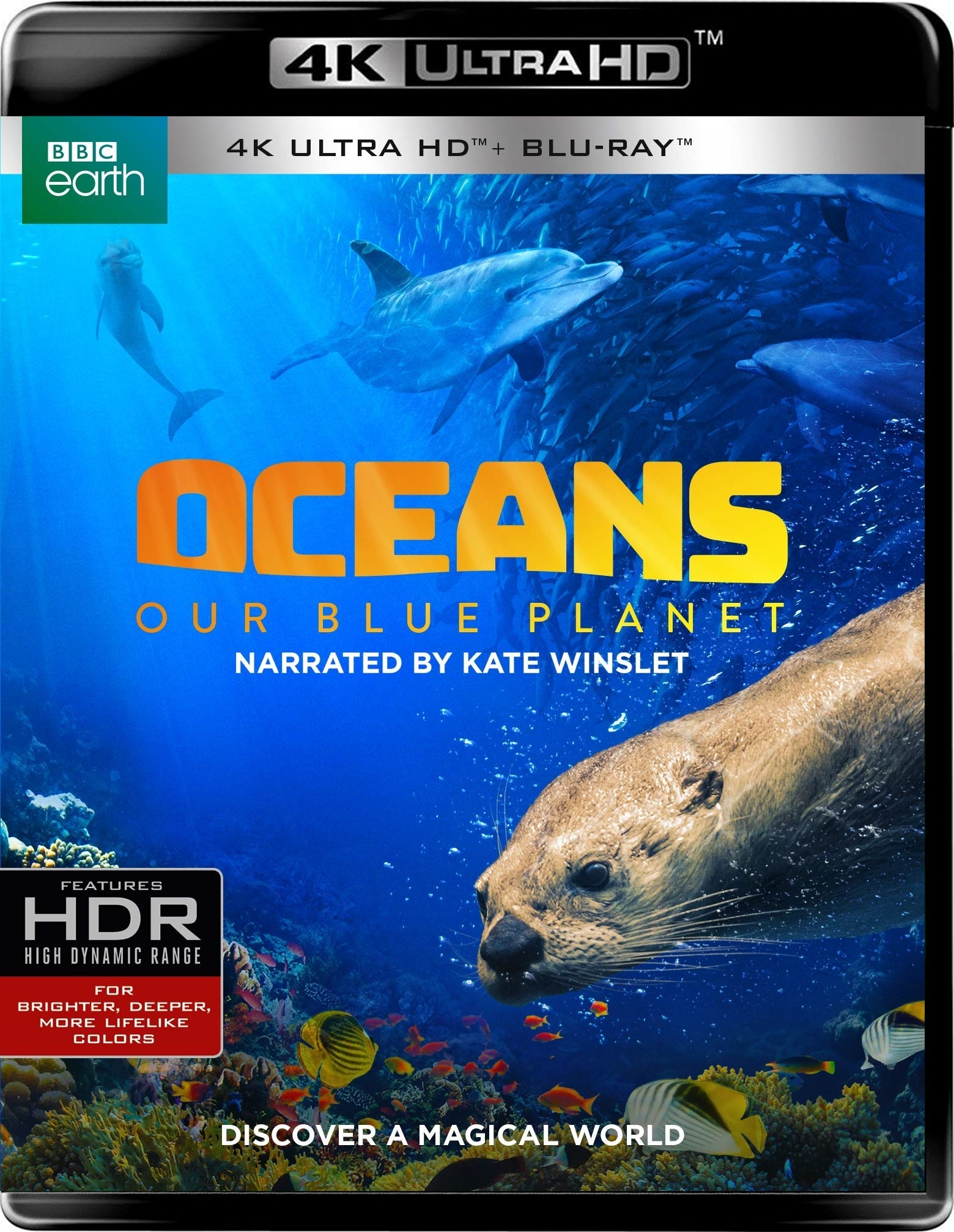 Oceans: Our Blue Planet 4K (2018) Ultra HD