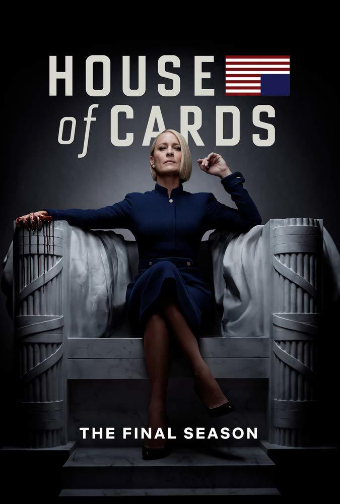 House of Cards: The Complete Sixth Season (Final Season)(Blu-ray)(Region A)(Pre-order / Mar 5)