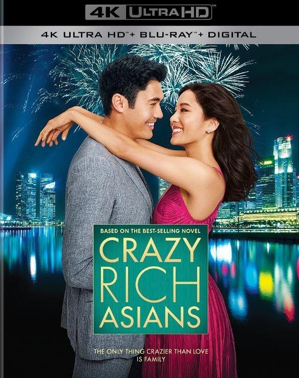 Crazy Rich Asians 4K (2018) Ultra HD Blu-ray