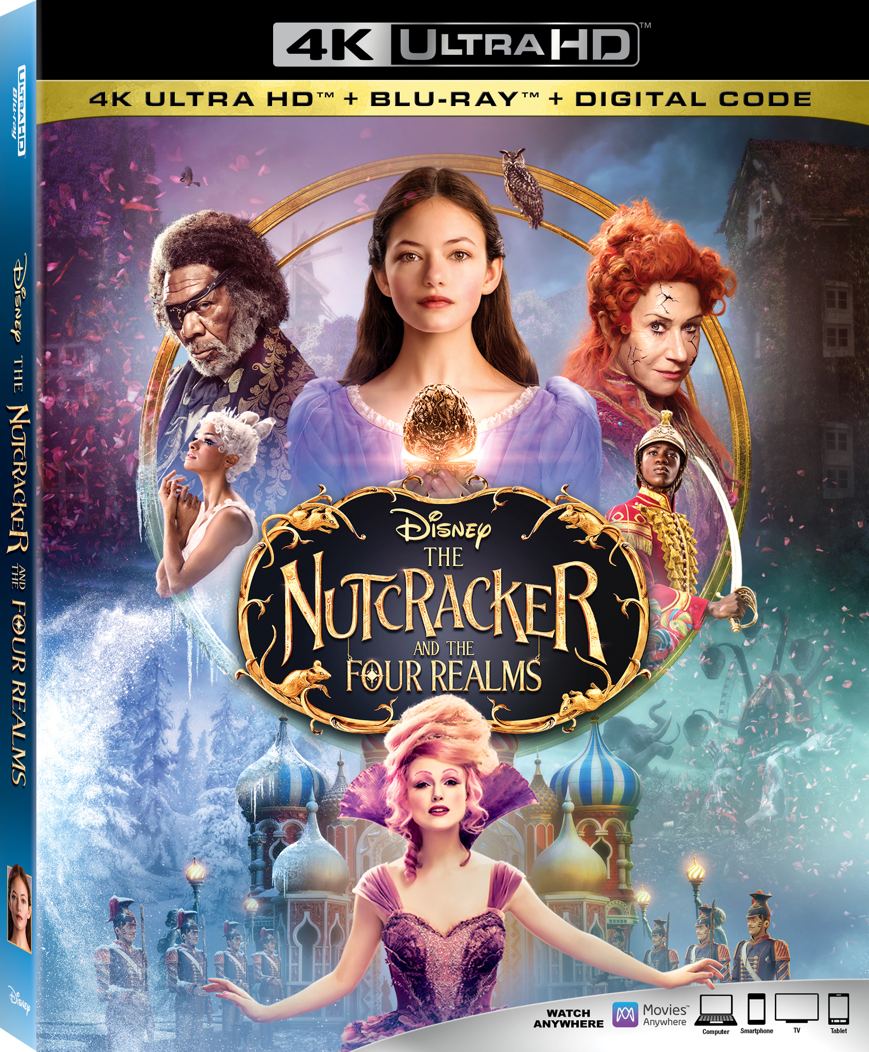 The Nutcracker and the Four Realms (4K Ultra HD Blu-ray)(Pre-order / TBA)
