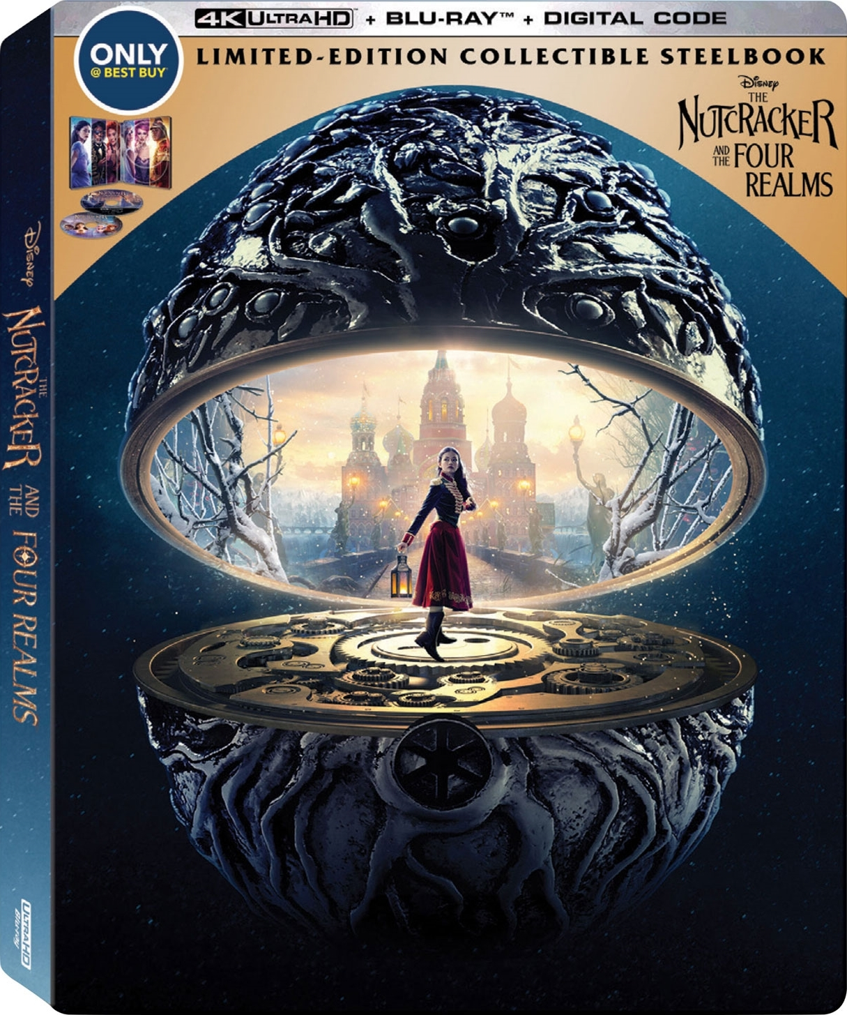 The Nutcracker and the Four Realms (SteelBook)(4K Ultra HD Blu-ray)(Pre-order / TBA)