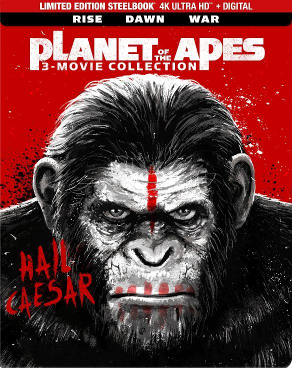 Planet of the Apes 3-Movie Collection (SteelBook) 4K Ultra HD