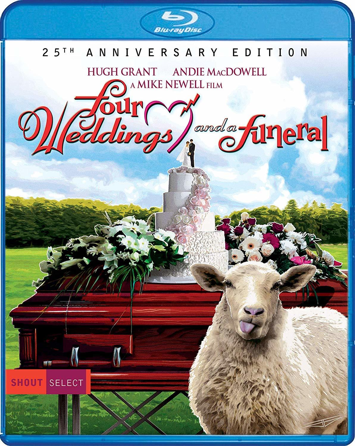 Four Weddings and a Funeral (Blu-ray)(Region A)