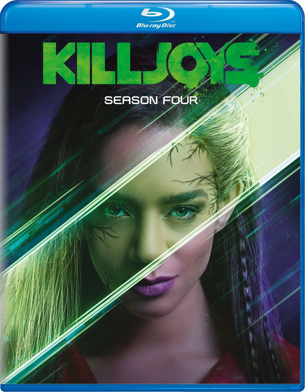 Killjoys: Season Four (Blu-ray)(Region Free)