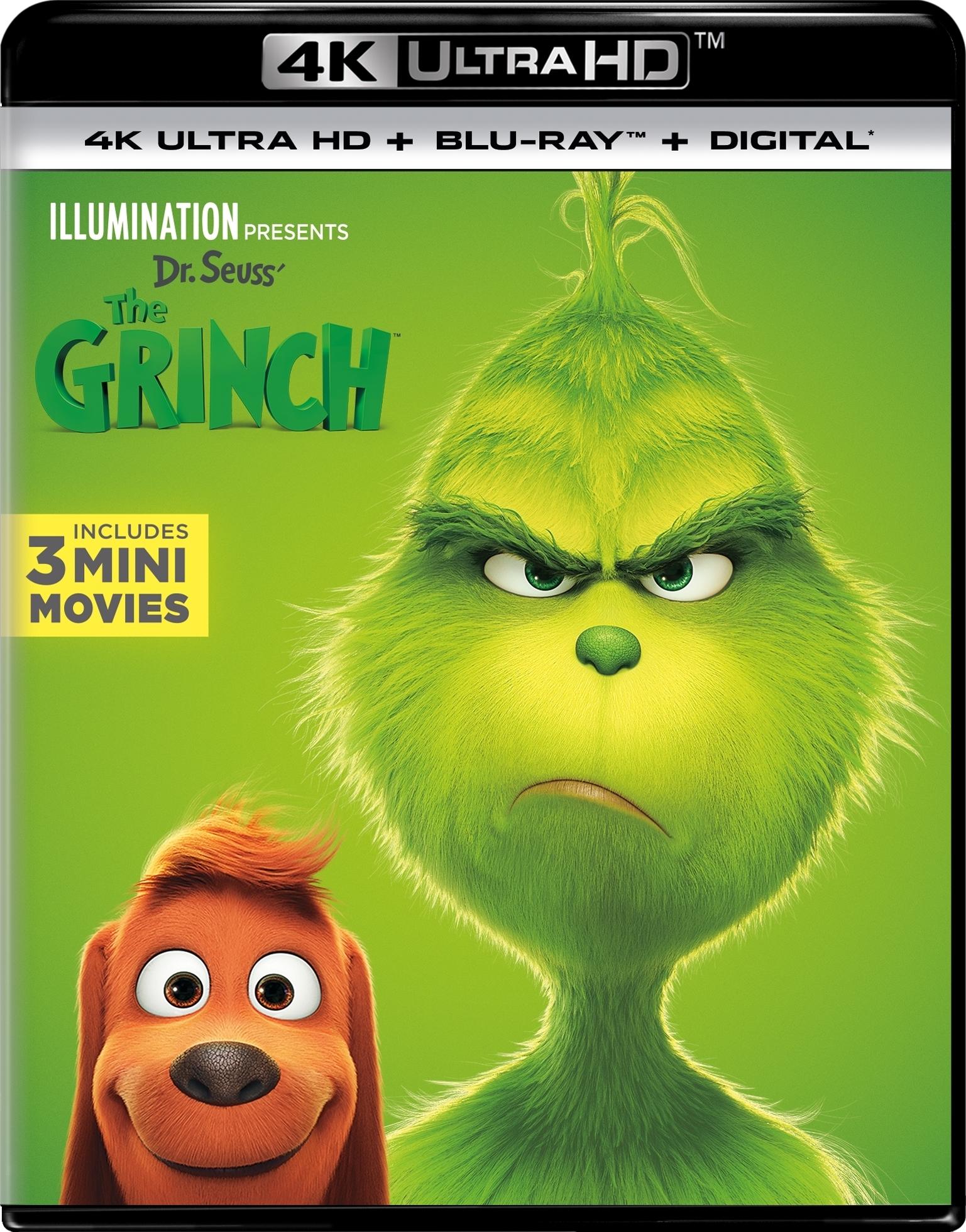 Dr Seuss The Grinch 2018 4k Ultra Hd
