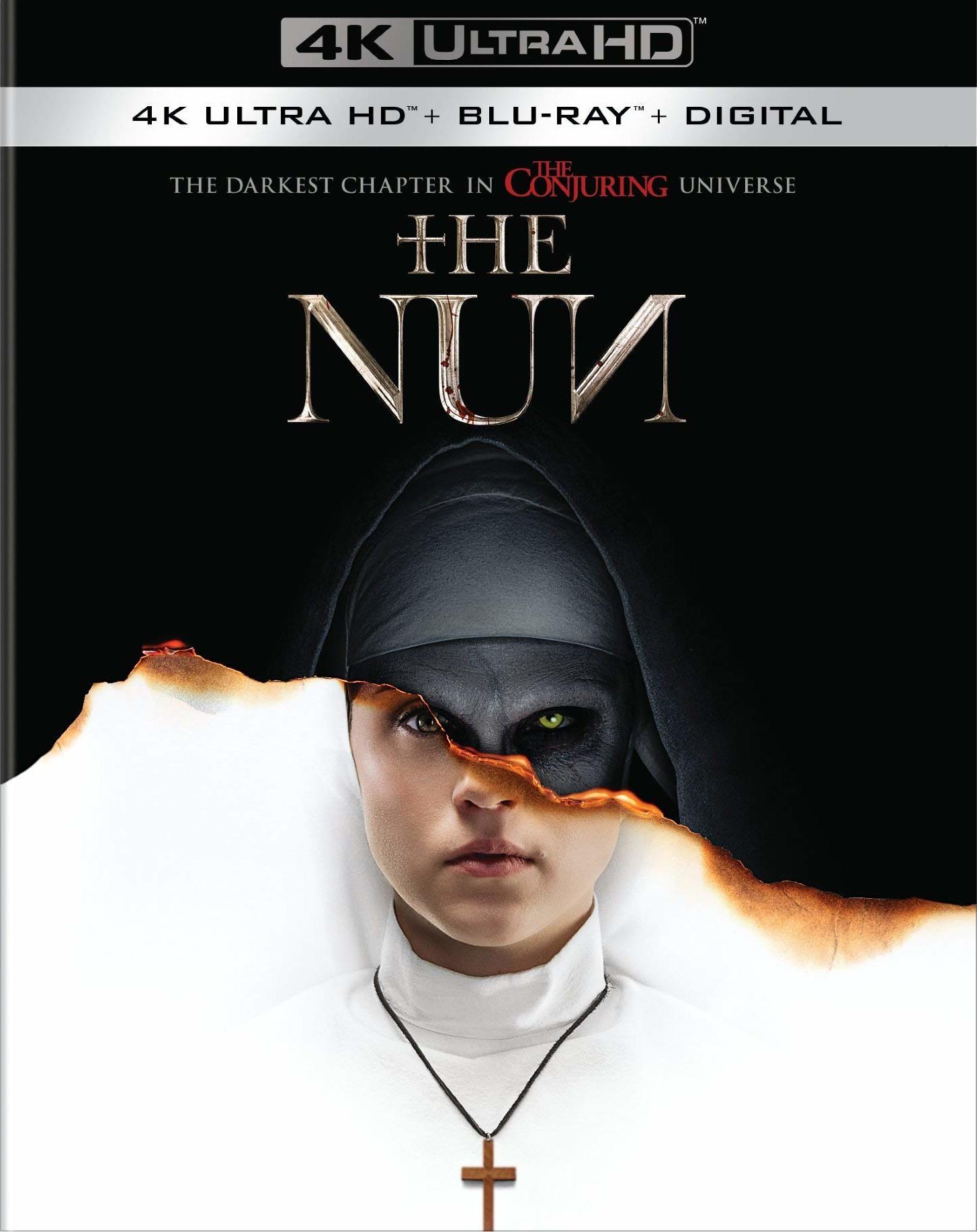 The Nun (2018) 4K Ultra HD Blu-ray