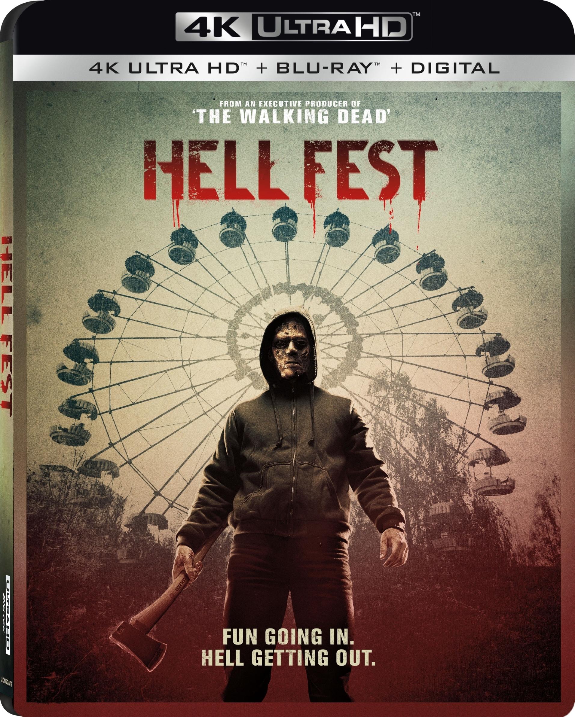 Hell Fest (4K Ultra HD Blu-ray)(Pre-order / Jan 8)