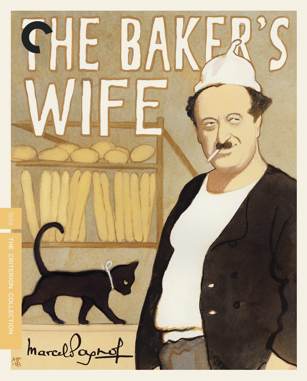 The Baker's Wife (The Criterion Collection)(Blu-ray)(Region A)(Pre-order / Jul 16)