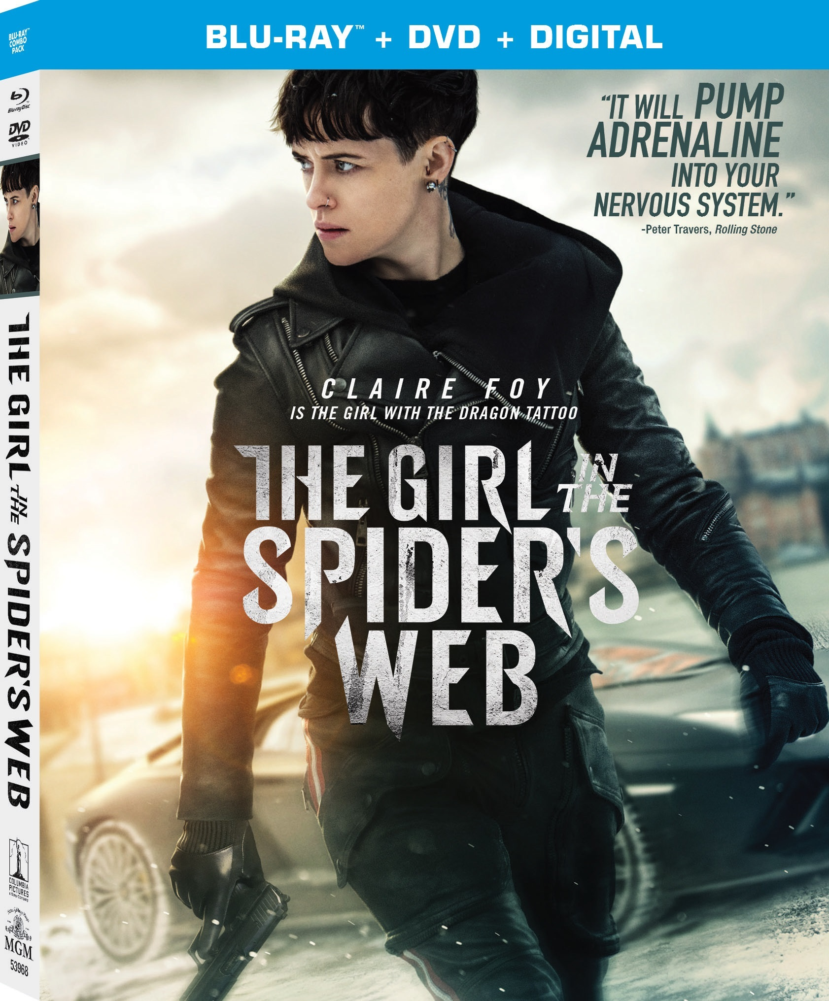The Girl in the Spider's Web (Blu-ray)(Region Free)