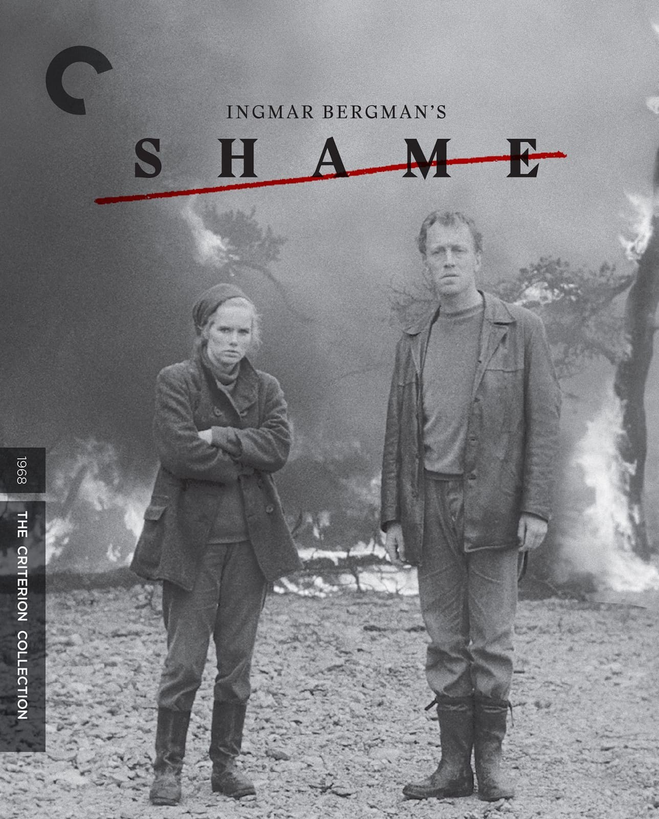 Shame (The Criterion Collection)(Blu-ray)(Region A)(Pre-order / Feb 5)